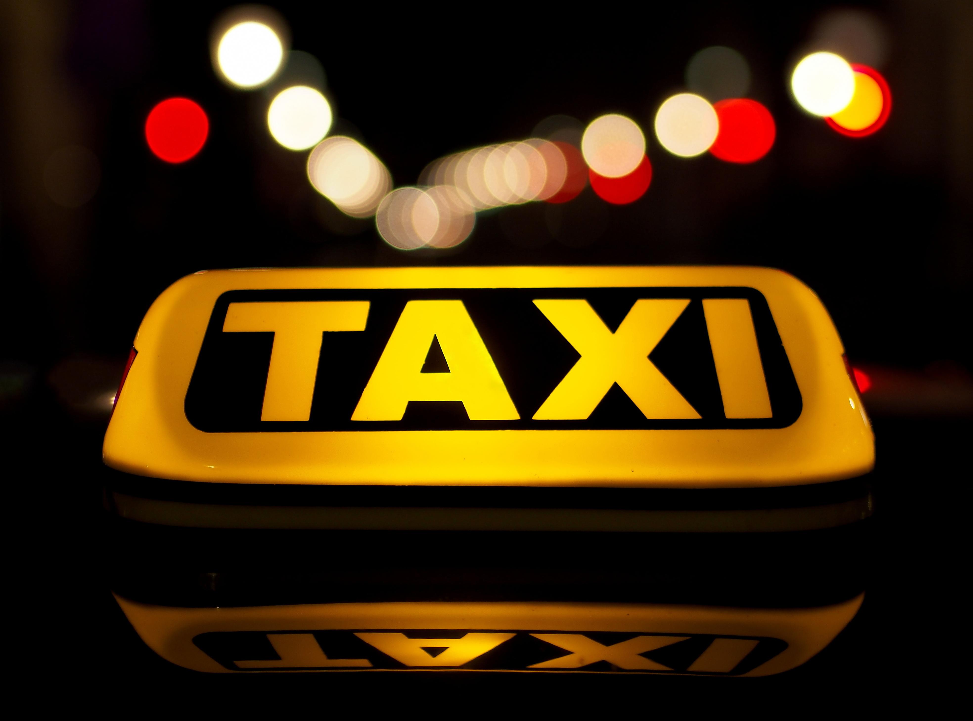 Taxi light by Petar Milošević