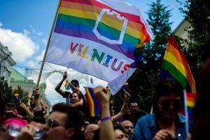 Baltic Pride 2016 in Vilnius, Lithuania. Photo: Audrius Dzimidavicius.